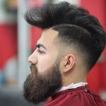 Feathery Style With Low Fade