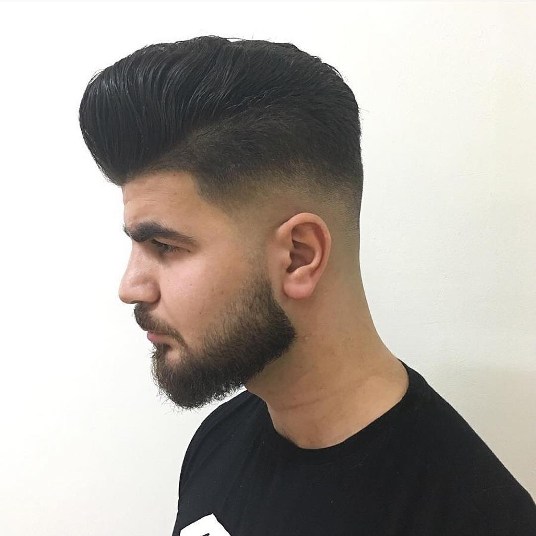 thick-pompadour-with-skin-fade