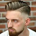 Hard Part With Combover and Skin Fade