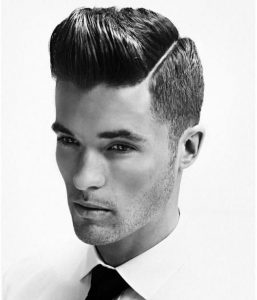 Hard Part With Sculpted Quiff Style