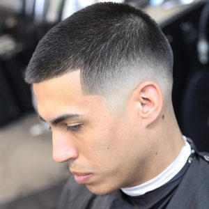 Low Fade Butch Cut
