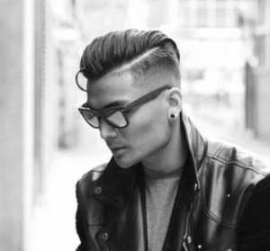Rockabilly Hard Part Pompadour