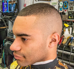high and tight close fade