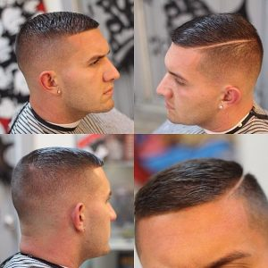 hard part crew cut