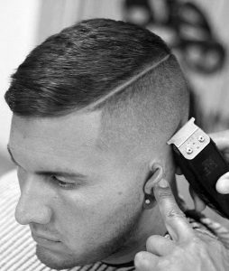 modern high and tight with hard part
