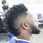 edged up with curly top