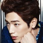 Mens Korean Hairstyles – Mid-Length Cut with Volume and Texture