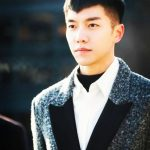 Mens Korean Hairstyles – Short Two-Block Cut with V-shaped Fringe
