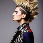 Punk Hairstyles for Women – Long Lengths and Undercut Mohawk