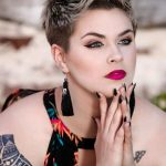 Punk Hairstyles for Women – Pixie Cut with Frosted Tips