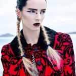 Punk Hairstyles for Women – Punk Braids with Hair Accessories