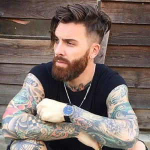 messy hipster haircut