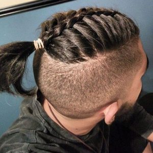 Braid Designs For Men with undercut