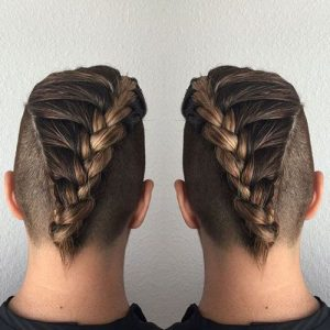 braided-undercut men