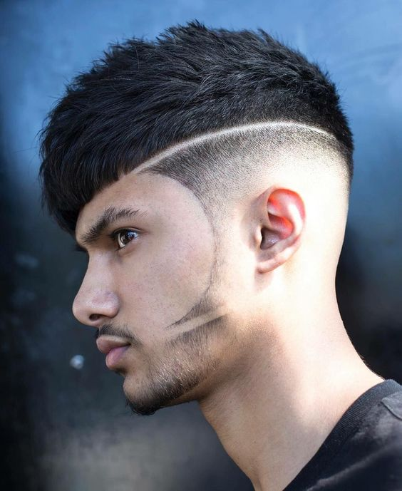 Haircut Designs Lines For Men