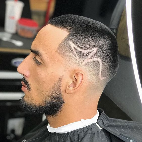 Line Up Haircut Designs And Looks
