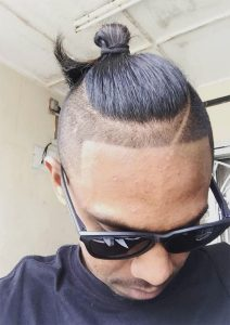 Line-Design-Samurai-Hair