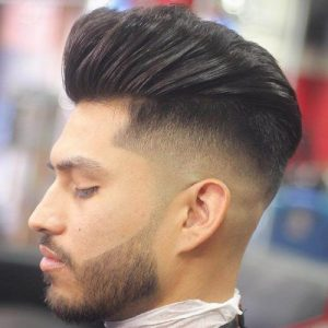 Shortest-Beard-fade