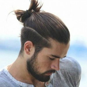 bun-Best-Short-Sides-Long-Top-Hairstyles