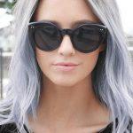 silver dye pastel ombre