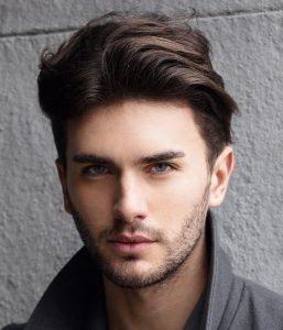 medium undercut hairstyle men