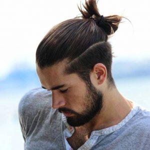 samurai hair