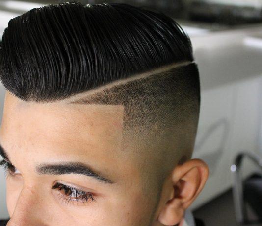 Hard Part Haircut Ideas