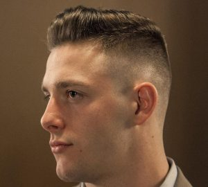 Military Ivy League Fade