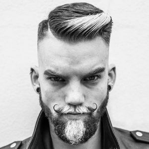 Ultra Hip Hard Part Haircut