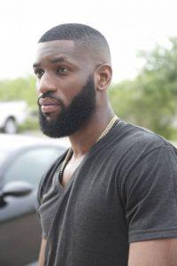 smooth fade with beard