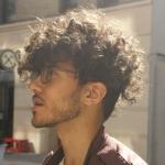 Dramatic Curls With Undercut