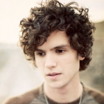 mid length curly cut