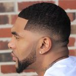 short low fade cut