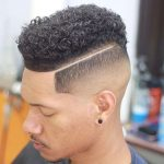hightop curls with fade