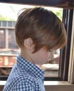 Swept Back kids hairstyles