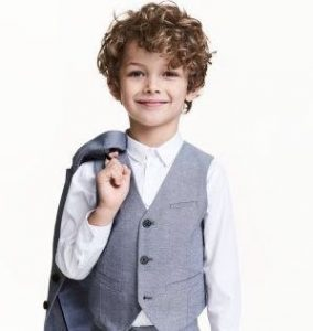 little boy curly hair
