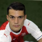 parted combover granit xhaka