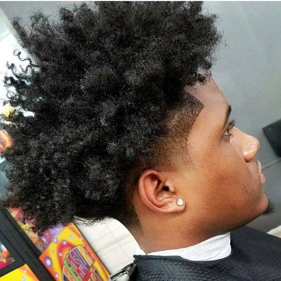 Taper Haircut Afro 90