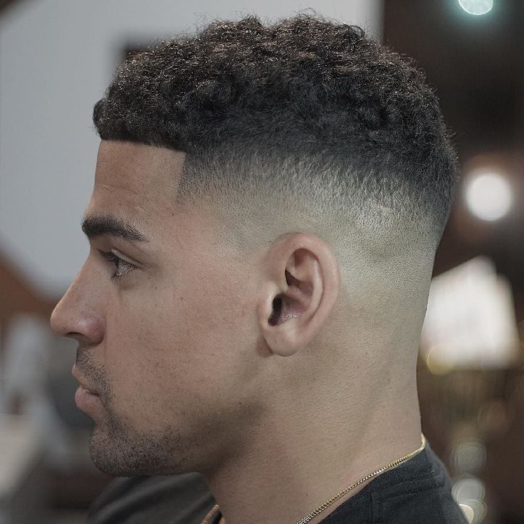 Fade Haircut For Black Boys With Design 71