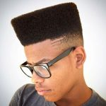 tapered high top fade