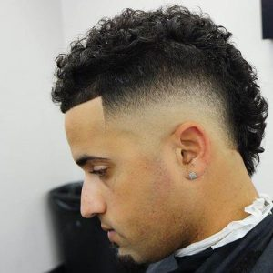 curly fade south of france