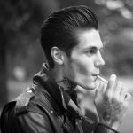 classic greaser pompadour