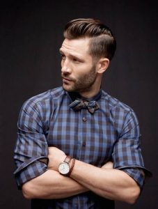 Receding Hairlines cut men