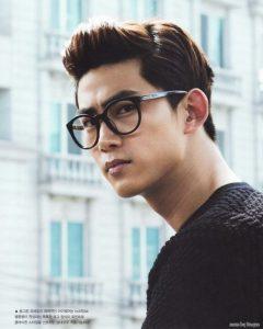 Preppy Korean Hairstyle For Men