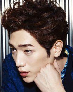 Textured Mens Korean Hair Cut