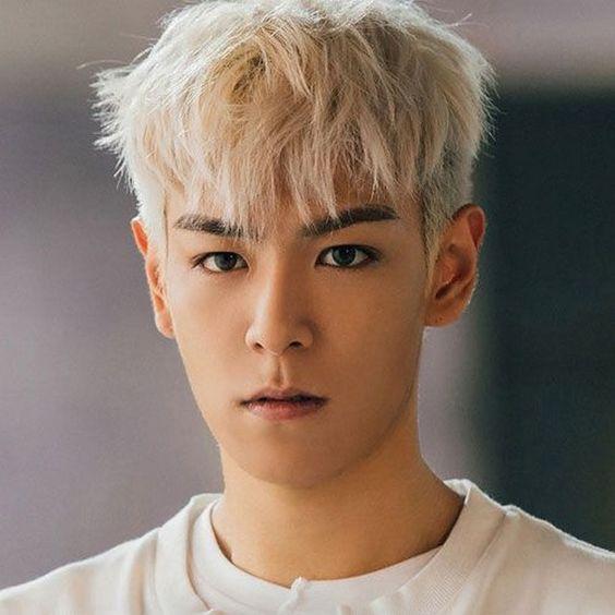 Korean Hair Trends - Two-Block Cut with Bangs