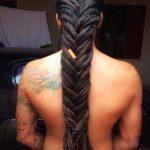 fishtail dreads