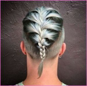 blonde-ombre-french-braids