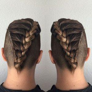 braided-undercut men