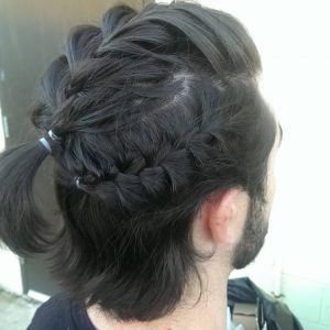 multidimensional french braids for guys